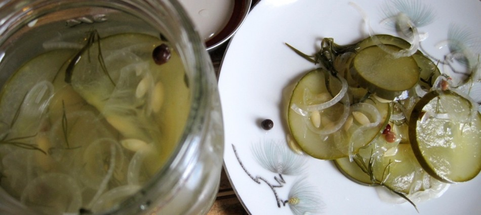 sweet and crunchy homemade pickles