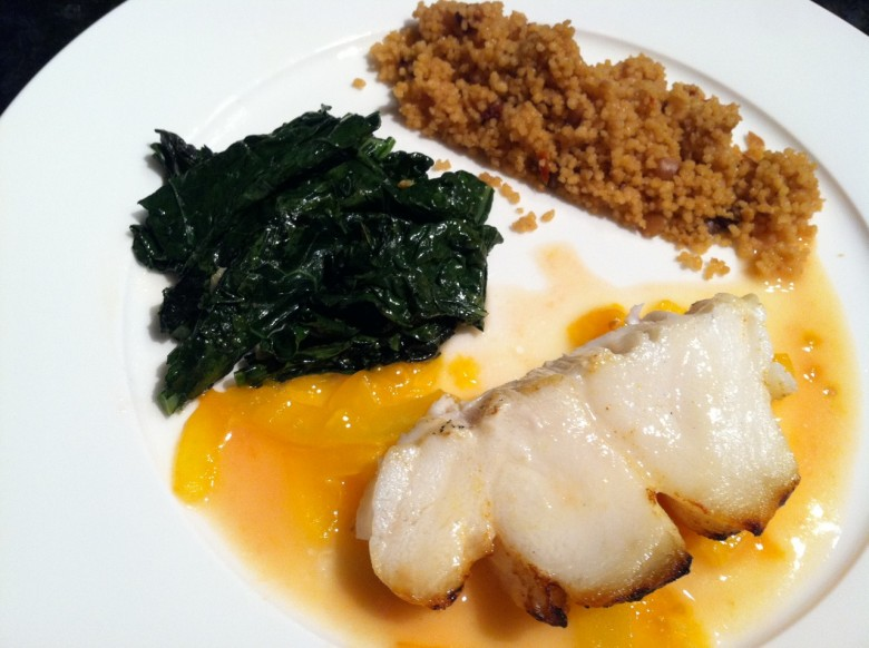 chilean sea bass with lemon butter heirloom sauce