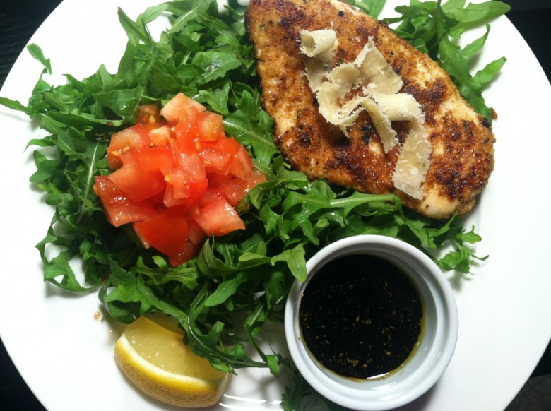 chicken milanese with arugula | Country Kitchen (in the city)