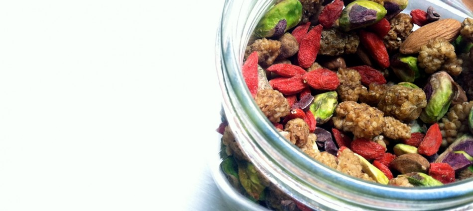 superfood snack mix