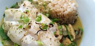 thai green curry cod